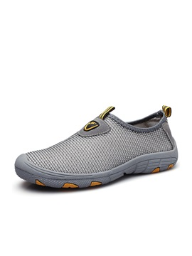 Breathable Mesh Slip On Casual Shoes For Men