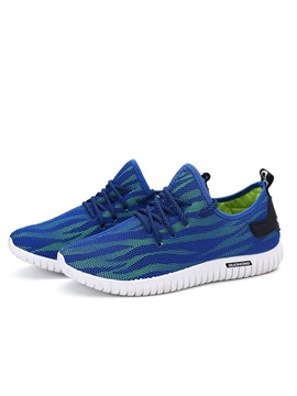 Breathable Mesh Lace Up Mens Sport Shoes