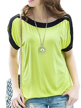 Special Hollow Short Sleeves T Shirt
