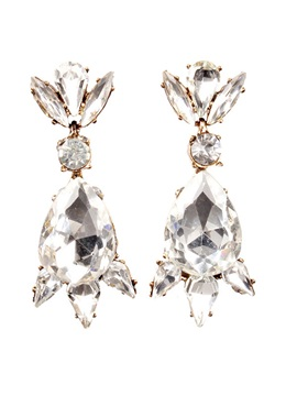 Exquisite Shining Crystal Women Earrings