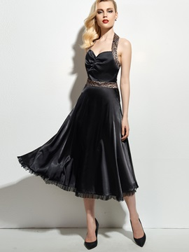 Expansion Knee Length Day Dress