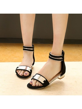 Cozy Open Toe Covering Heel Flat Sandals