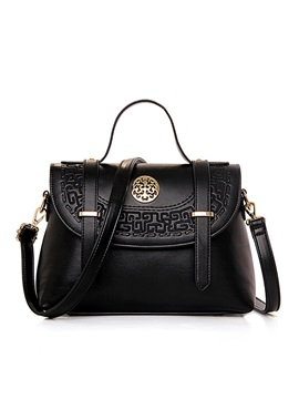 Ethnic Pattern Decorated Womens Handbag