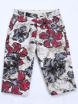 Floral Printed Mens Pants