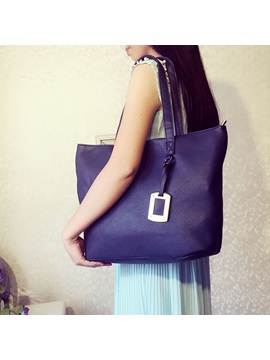 Simple Style Pendant Decorated Womens Tote Bag