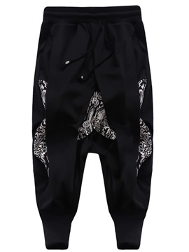 Floral Printed Mens Casual Harem Pants