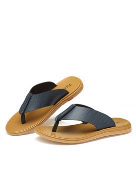 Pu Thong Slip On Mens Sandals