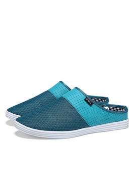 Breathable Mesh Slip On Mules For Men