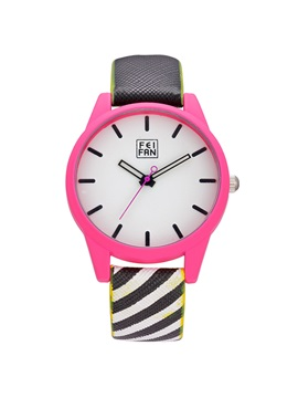 Simple Candy Color Quartz Movement Women Watch
