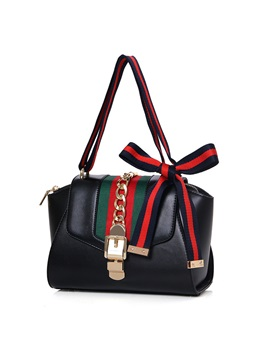 Fashion Bowknot Decorated Womens Handbag