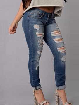 Denim Worn Out Boyfriend Jeans