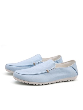 Breathable Slip On Canvas Loafers