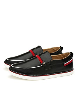 Pu Thread Casual Shoes For Men
