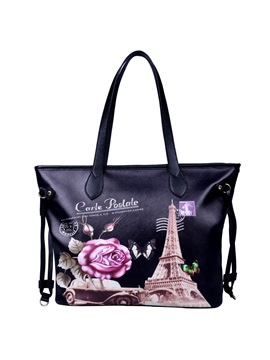 Pattern Printed Womens Tote Bag