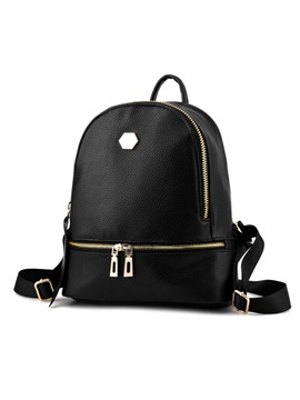 Large Capacity Rivets Decorated Backpack