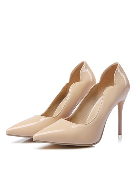Pu Stiletto Heel Classic Pumps