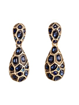 Wonderful Alloy Pattern All Matched Earrings