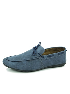 Elegant Suede Slip On Driving Shoes