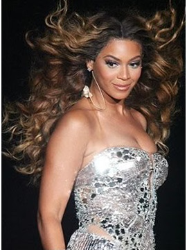 Custom Beyonce Hairstyle 100 Human Hair 140 Hair Density Lace Front Wig 24 Inches