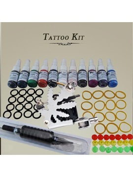 1 High Quality Tattoo Machine Tattoo Kits With Inks And Tips For Starter