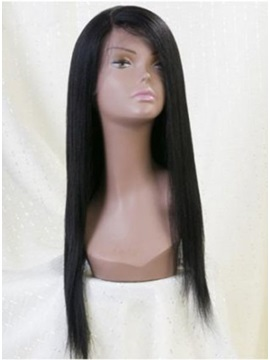 Custom Lace Front Super Cheap High Quality Wig Straight 18 Inches