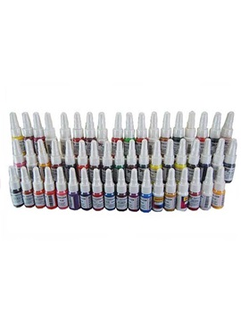 High Quality Professional 54 Colors 5ml Tattoo Inks For Tattoo Fans