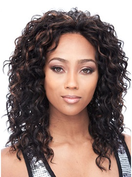 Top Quality Long Curly Synthetic Hair Lace Front Wig 14 Inches