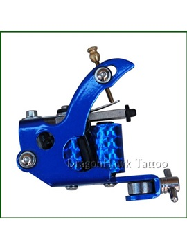 Blue Stainless Steel Tattoo Machine For Shader And Liner