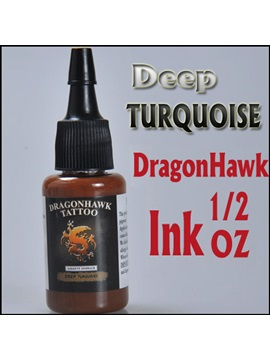 Tattoo Supplies 1 Bottle Of 1 2 Oz Tattoo Ink Deep Turquoise