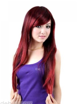Top Quality 100 Human Hair Straight Lace Wig About 24 Inches