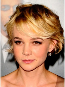 Custom Latest Top Quality Short Hairstyle 100 Remy Human Hair Full Lace Cap Wig 6 Inches