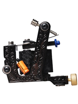 Cast Iron Tattoo Machine For Liner And Shader With Double Coils