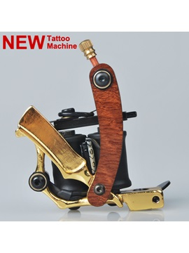 New Starter Cast Iron Tattoo Machine For Liner And Shader With Double Coils