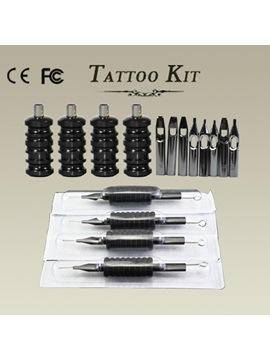 Tattoo Accessories Set With Disposable Grips And Tips