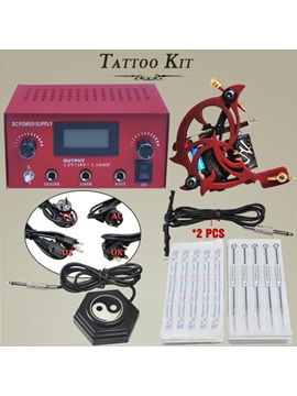 High Quality Tattoo Power Pack With 1 Tattoo Gun And 50 Needles