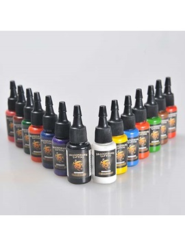 High Quality Tattoo Inks With 14 Colors Dragon Hawk Inks