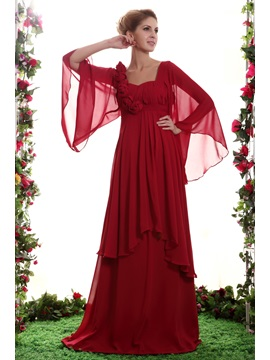Elegant Flowers Tiered Column Floor Length Sweetheart Neckline Nastyas Mother Of The Bride Dress