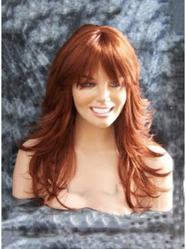 Hot Full Head Long Wavy Synthetic Hair Wig 18 Inches