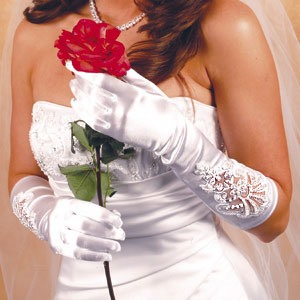 Formal Or Bridal Gloves Style