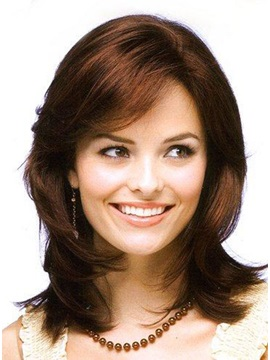 Medium Curly Synthetic Hair Wig Like Kendall Wig Style 12 Inches