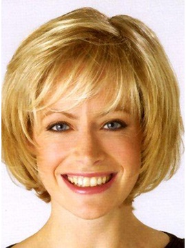 Lovely Short Synthetic Hair Wig 11 Inches