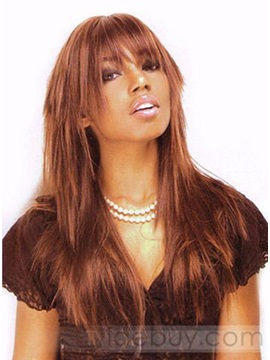 Long Straight Synthetic Hair Wig 18 Inches