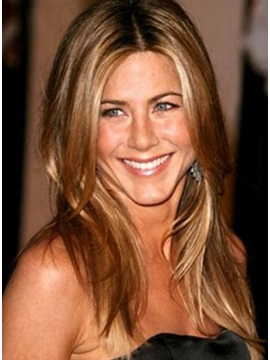 Custom Jennifer Aniston Hairstyle Full Lace Wig 100 Human Hair Wig18 Inches
