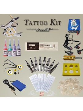 Great Quality Tattoo Kit With 1 Bullet Tattoo Machine 4 Inks And Power Supply