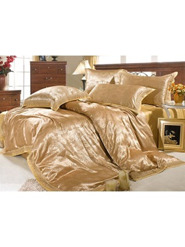 Roman Style 6 Piece Comforter Bedding Sets With Deception Pattern
