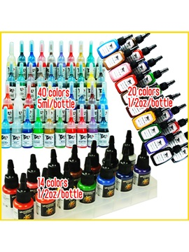 Superior Tattoo Inks With 40 Colors Inks 20 Colors Inks 14 Color Inks