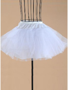 Fluffy Gauze Short Wedding Bridal Petticoats