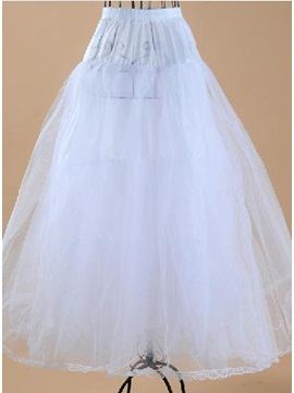 Charming Fluffy Long Gauze A Line Wedding Petticoats