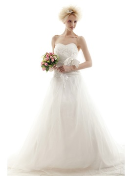 Amazing Ball Gown Sweetheart Chapel Nastyes Wedding Dress For Brides