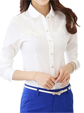 Special Lace Decoration Shirt